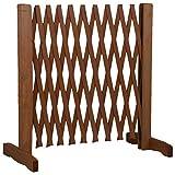 MaxxPro Hundezaun aus Holz (ausziehbar)